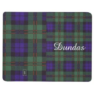 Tartán del escocés de la tela escocesa del clan de cuadernos