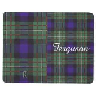 Tartán del escocés de la tela escocesa del clan de cuadernos grapados