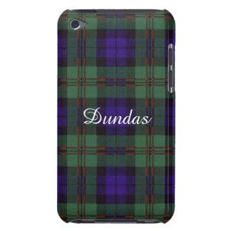 Tartán del escocés de la tela escocesa del clan de cubierta para iPod de barely there