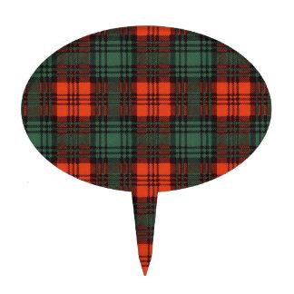 Tartán del escocés de la tela escocesa del clan de decoración para tarta