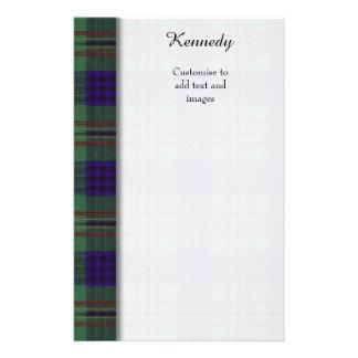 Tartán del escocés de la tela escocesa del clan de folleto 14 x 21,6 cm