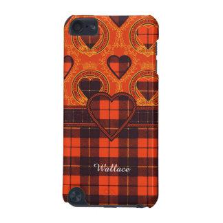 Tartán del escocés de la tela escocesa del clan de funda para iPod touch 5G