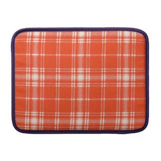 Tartán del escocés de la tela escocesa del clan de funda  MacBook