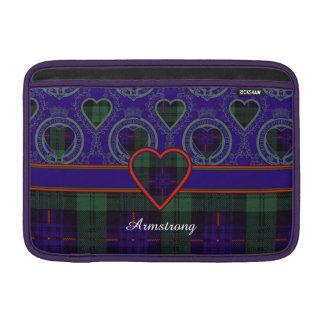 Tartán del escocés de la tela escocesa del clan de fundas macbook air