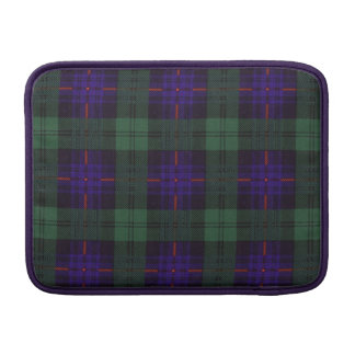 Tartán del escocés de la tela escocesa del clan de fundas para macbook air