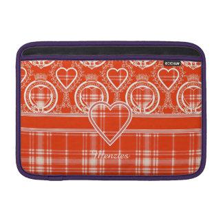 Tartán del escocés de la tela escocesa del clan de fundas MacBook
