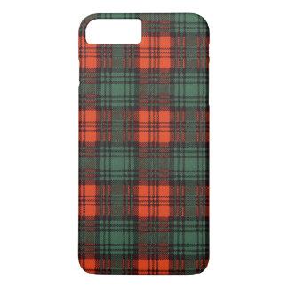 Tartán del escocés de la tela escocesa del clan de funda iPhone 7 plus