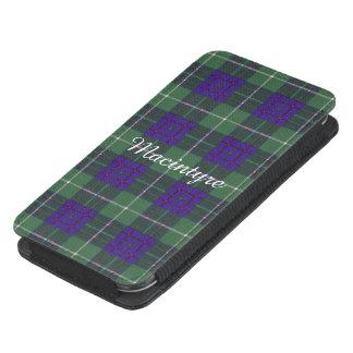 Tartán del escocés de la tela escocesa del clan de funda acolchada para galaxy s4