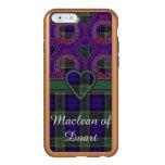 Tartán del escocés de la tela escocesa del clan de funda para iPhone 6 plus incipio feather shine