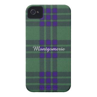 Tartán del escocés de la tela escocesa del clan de funda para iPhone 4