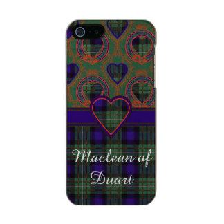 Tartán del escocés de la tela escocesa del clan de funda para iPhone 5 incipio feather shine