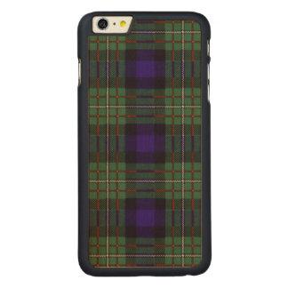 Tartán del escocés de la tela escocesa del clan de funda para iPhone 6 de carved® de arce