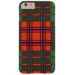 Tartán del escocés de la tela escocesa del clan de funda para iPhone 6 plus barely there