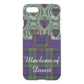 Tartán del escocés de la tela escocesa del clan de funda para iPhone 7
