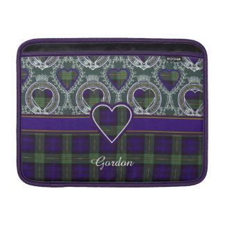 Tartán del escocés de la tela escocesa del clan de funda para macbook air
