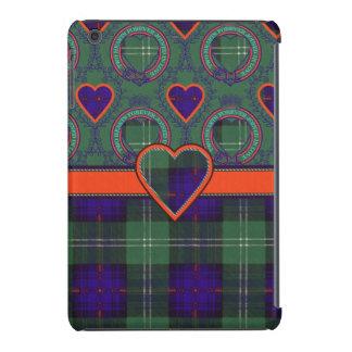 Tartán del escocés de la tela escocesa del clan de fundas de iPad mini retina