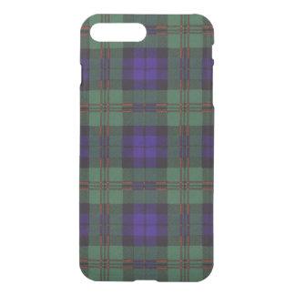 Tartán del escocés de la tela escocesa del clan de fundas para iPhone 7 plus