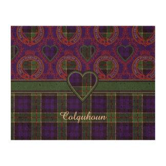 Tartán del escocés de la tela escocesa del clan de impresiones en corcho