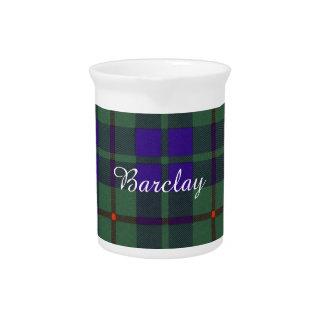 Tartán del escocés de la tela escocesa del clan de jarrones