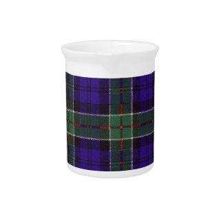 Tartán del escocés de la tela escocesa del clan de jarras
