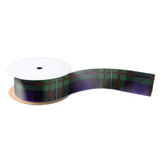 Tartán del escocés de la tela escocesa del clan de lazo de raso