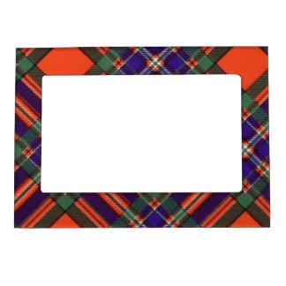 Tartán del escocés de la tela escocesa del clan de marcos magneticos de fotos