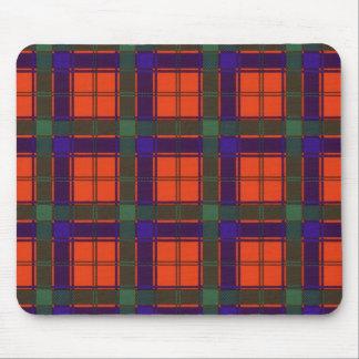 Tartán del escocés de la tela escocesa del clan de mouse pad