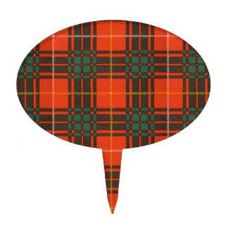Tartán del escocés de la tela escocesa del clan de palillos de tarta