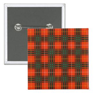 Tartán del escocés de la tela escocesa del clan de pin cuadrada 5 cm