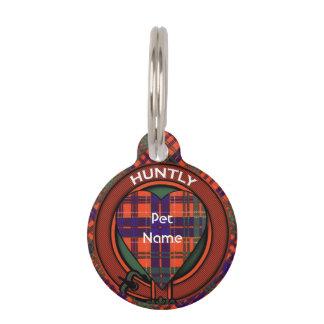 Tartán del escocés de la tela escocesa del clan de identificador para mascota