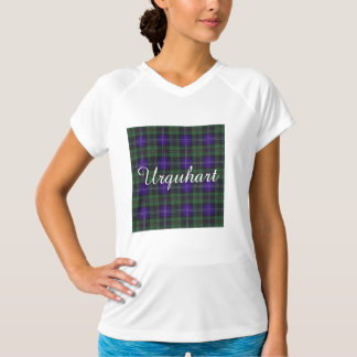 Tartán del escocés de la tela escocesa del clan de playera