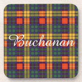 Tartán del escocés de la tela escocesa del clan de posavasos