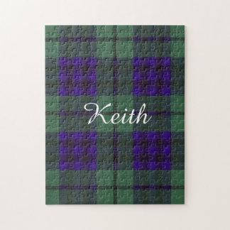 Tartán del escocés de la tela escocesa del clan de puzzle