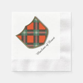 Tartán del escocés de la tela escocesa del clan de servilleta de papel