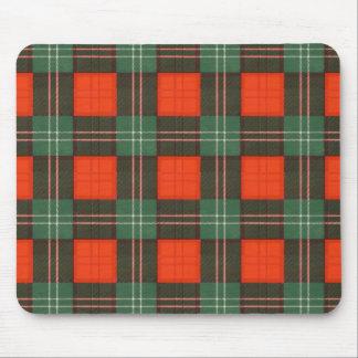 Tartán del escocés de la tela escocesa del clan de tapete de ratones