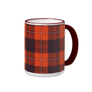 Tartán del escocés de la tela escocesa del clan de taza a dos colores