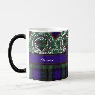 Tartán del escocés de la tela escocesa del clan de taza mágica
