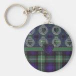 Tartán del escocés de Lamont Llaveros Personalizados