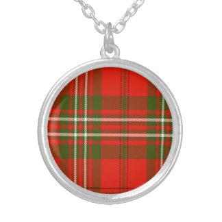 Tartán del escocés de Langlands Colgante Redondo