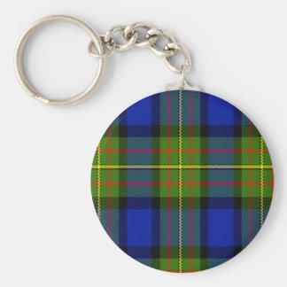 Tartán del escocés de Lorenzo Llavero Redondo Tipo Pin
