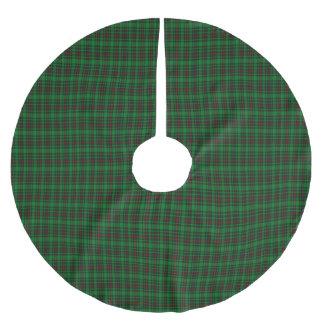 Tartán del escocés de Lundin Falda Para Arbol De Navidad De Poliéster
