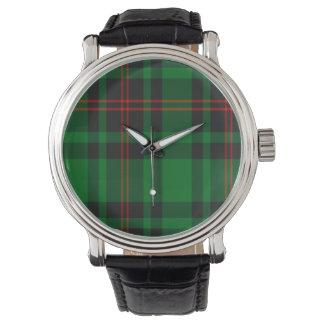 Tartán del escocés de Lundin Relojes