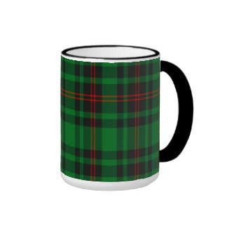 Tartán del escocés de Lundin Taza De Dos Colores