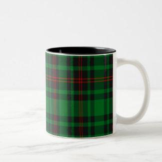 Tartán del escocés de Lundin Taza De Dos Tonos