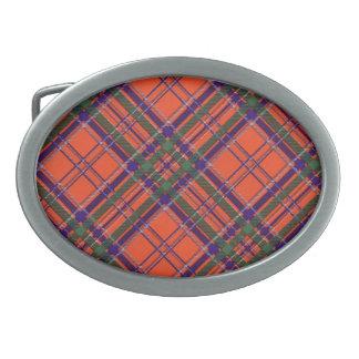 Tartán del escocés de MacGillivary Hebillas De Cinturon