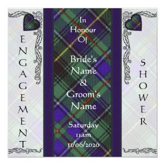 Tartán del escocés de MacInnes Comunicado Personalizado