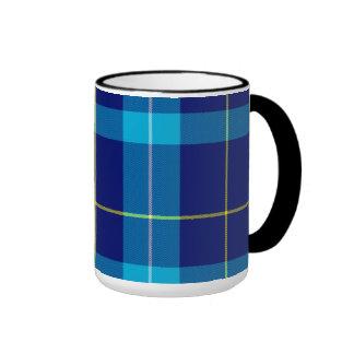 Tartán del escocés de Mckerrell Taza De Dos Colores