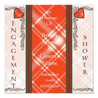 Tartán del escocés de Menzies Comunicados Personalizados