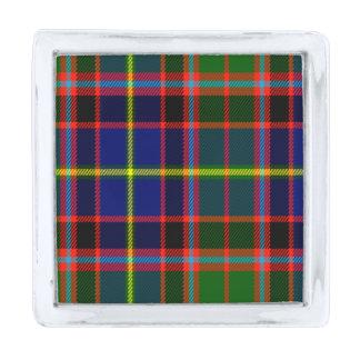 Tartán del escocés de Norvel Insignia Plateada