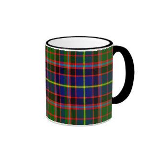 Tartán del escocés de Norvel Taza De Dos Colores